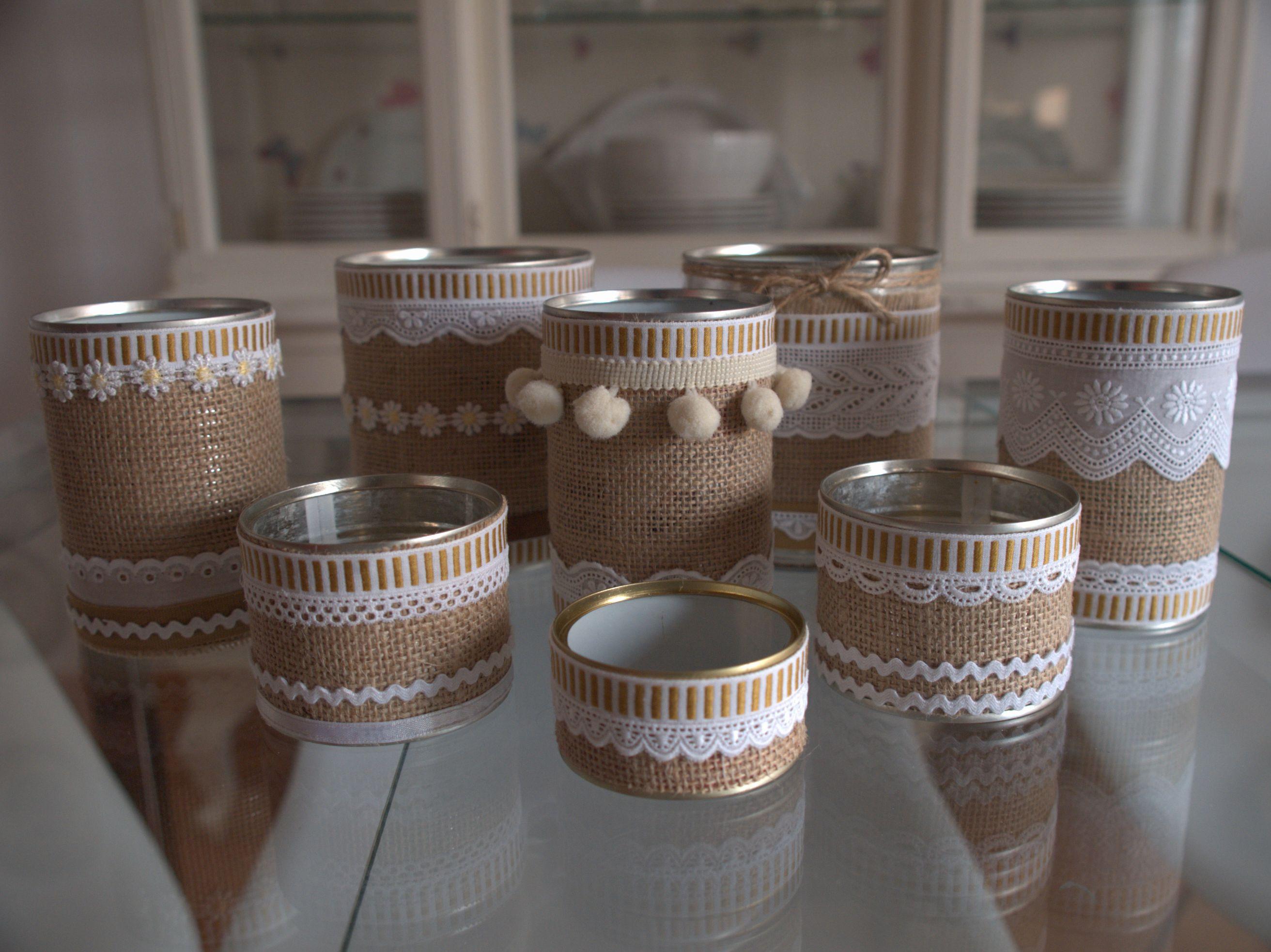 Reciclar latas de conserva en mis manitas diy blog de - Manualidades faciles con latas ...