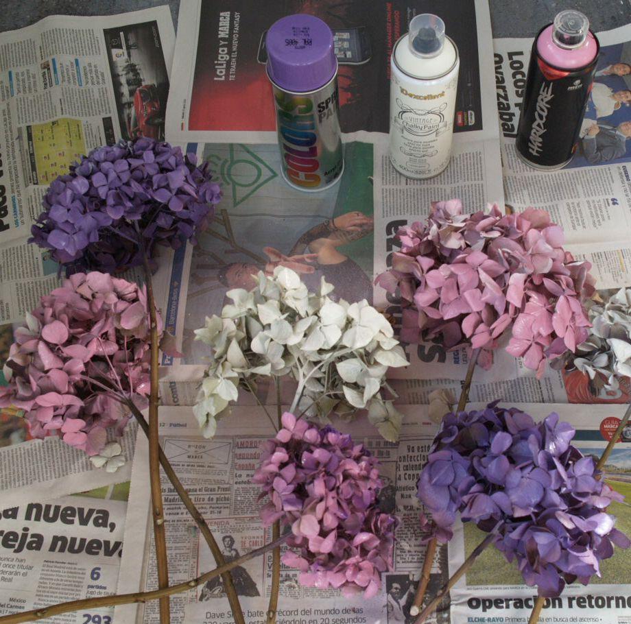 Como secar las hortensias fabulous calcula los gastos de - Como secar hortensias ...