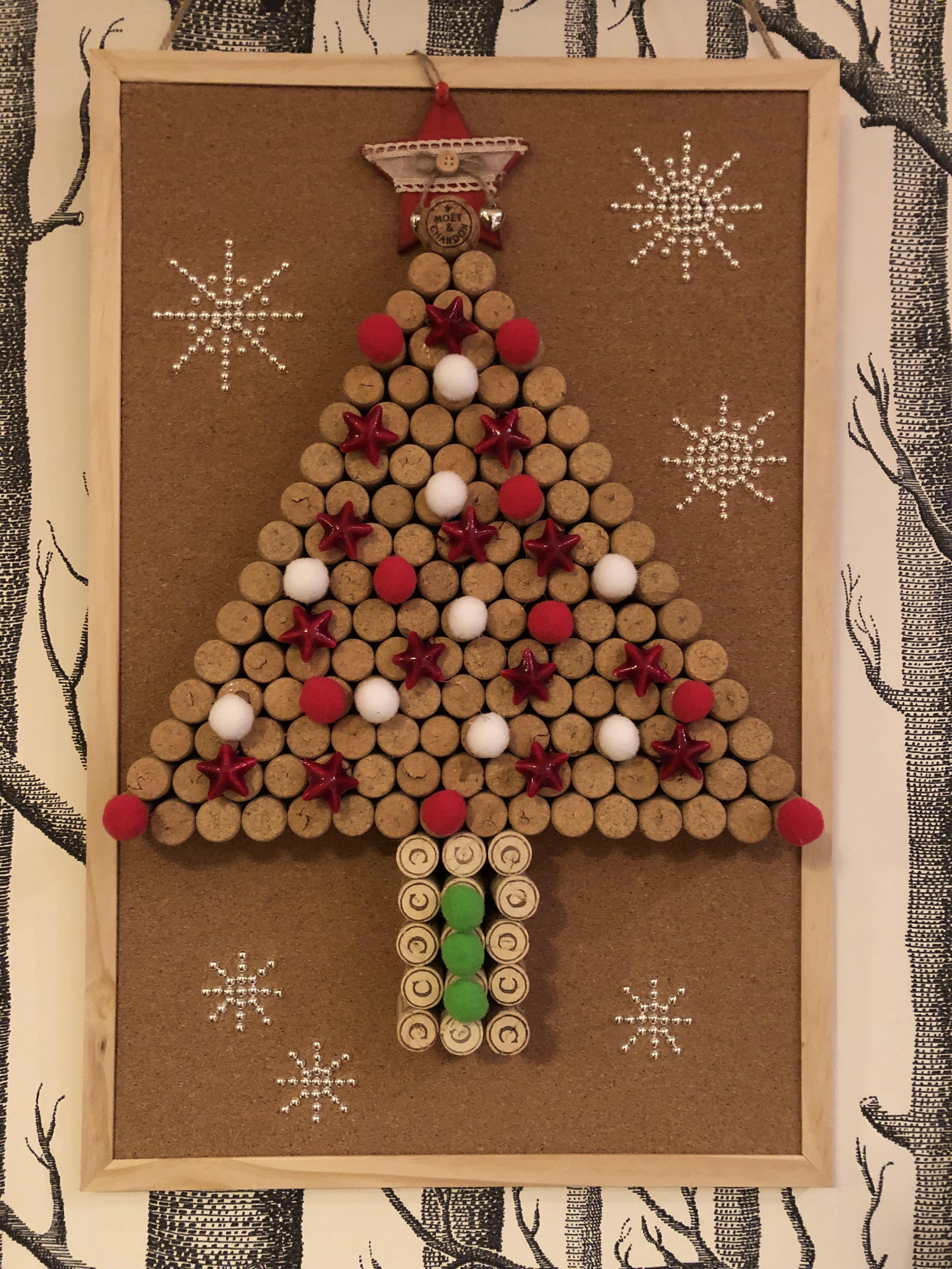 Manualidades Para El Hogar Navidad.Cuadro Con Arbol De Navidad En Mis Manitas Diy Blog De